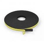 Уплотнитель шинорейки  5мм х10мм х 10м(черн)
